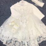 Ivory Christening Dress Set